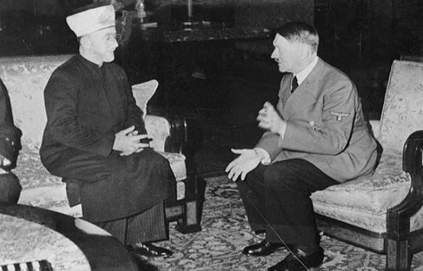 كان اللقاء بين هتلر ومفتي القدس الحاج أمين الحسيني في 28 نوفمبر 1941 ببرلين