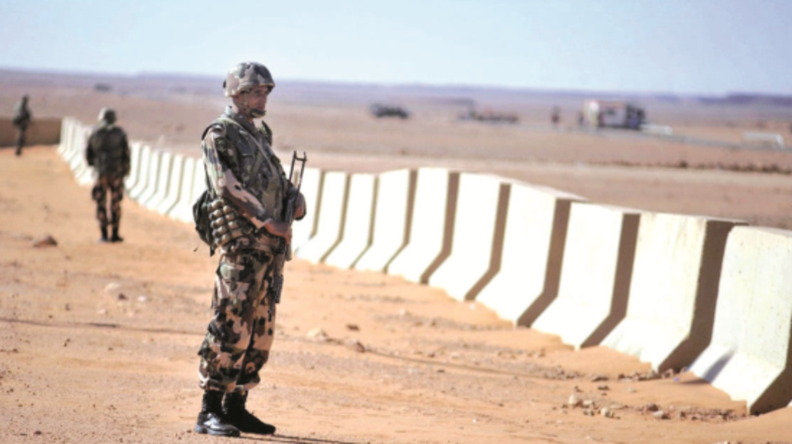 الحدود الليبية الجزائرية