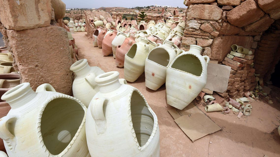 500-year-old pottery workshop in Guellala