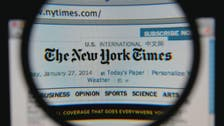 Ousted New York Times editor to make first public remarks
