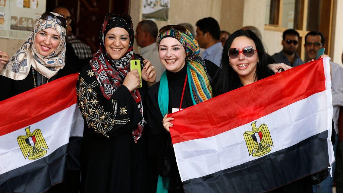 جانب من تصويت المصريين بالخارج