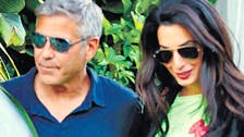 Wedding bells ring as George and Amal 'set date'