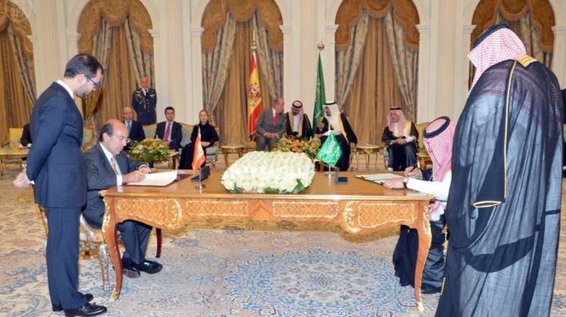 توقيع اتفاقية بين السعودية وأسبانيا