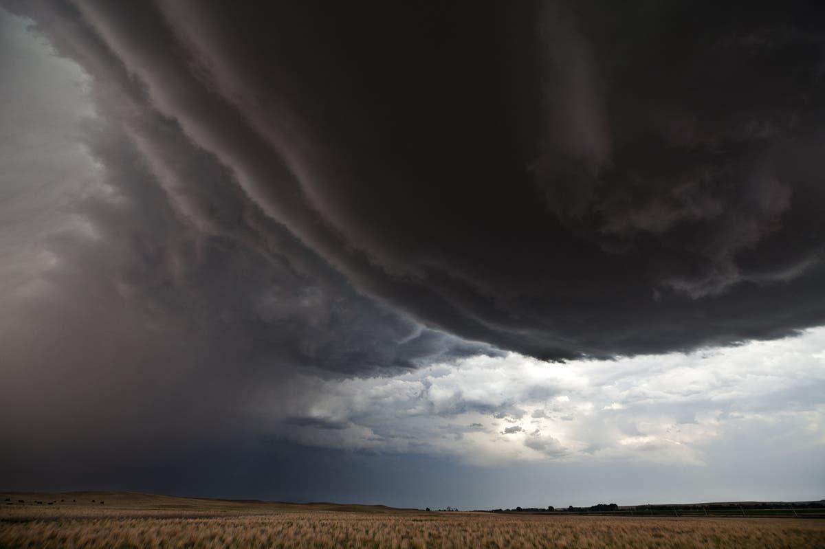 إعصار في اميركا