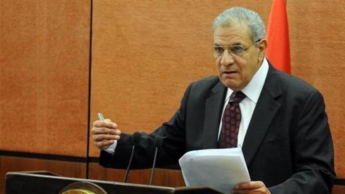 رئيس الوزراء المصري إبراهيم محلب