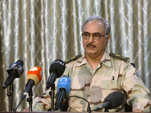 حفتر: هدف العمليات العسكرية تطهير ليبيا من التطرف