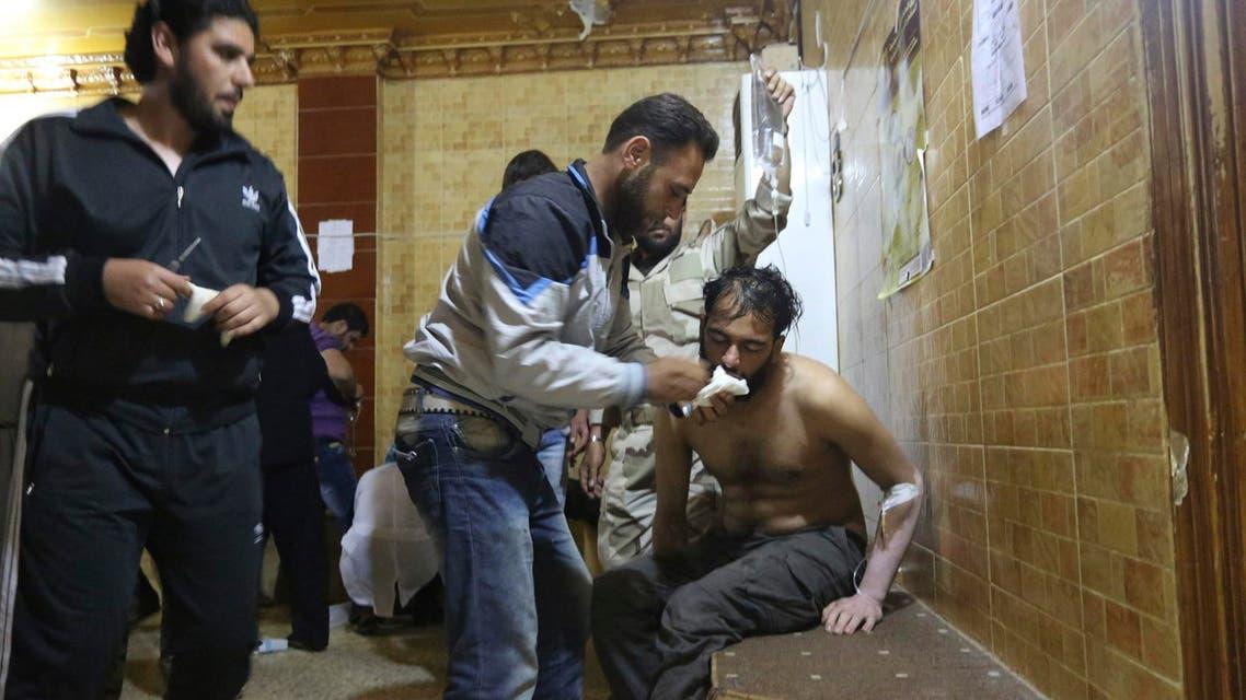 غازات سامة في سوريا كيمياوي