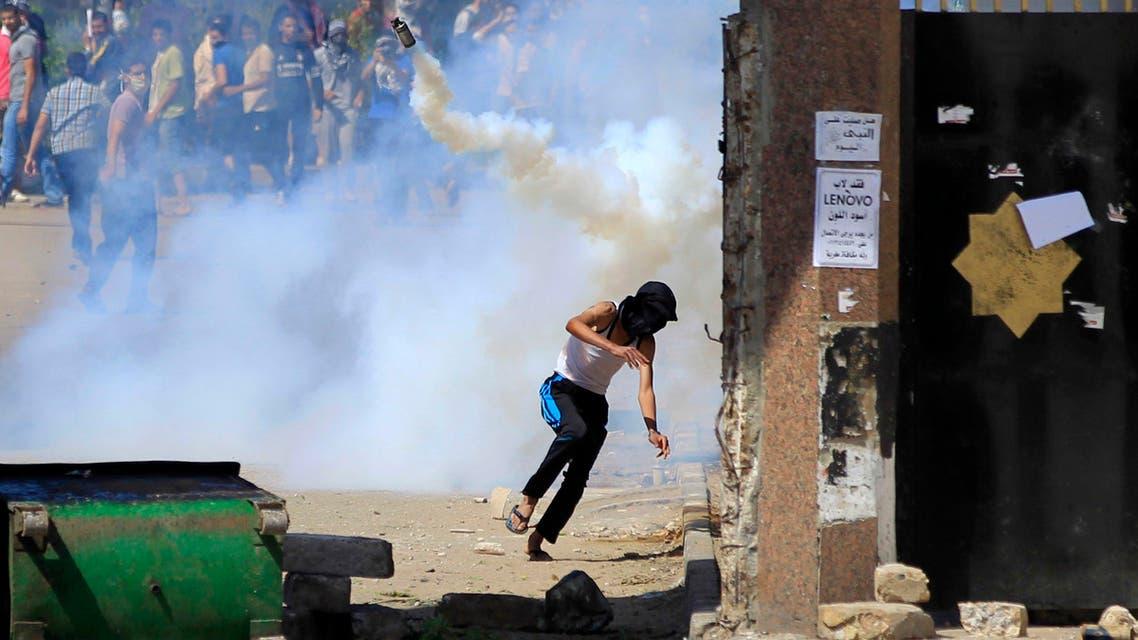 اشتباكات سابقة أمام جامعة الأزهر
