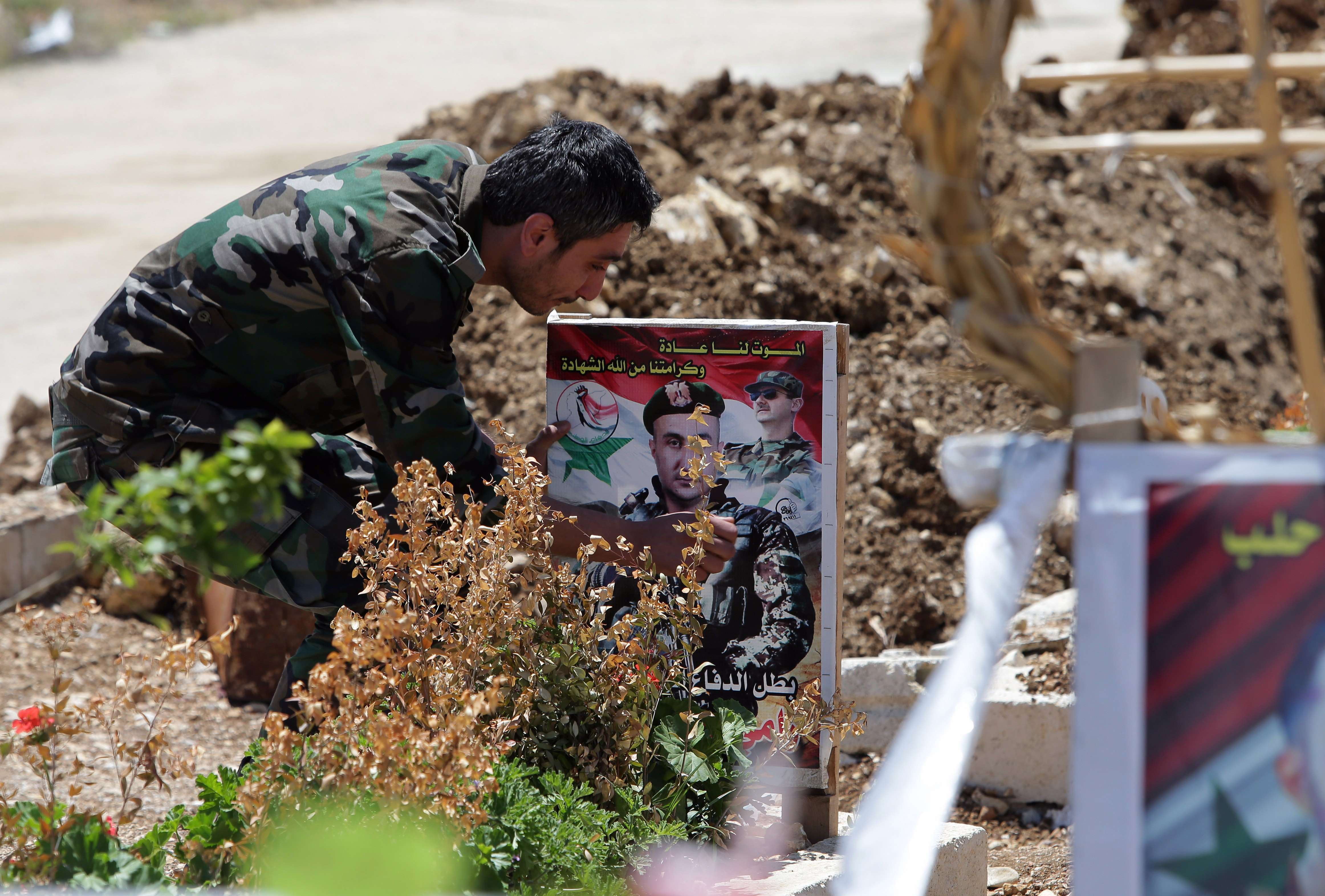 Syria's Tartus pays respect to war victims