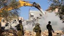 الجرافات الإسرائيلية تدمر منطقة سكنية شمال أريحا