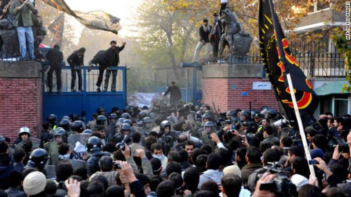 الهجوم على السفارة البريطانية في طهران