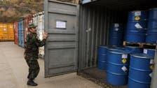 شام کے باقی ماندہ کیمیائی ہتھیاروں کی تلفی کا آغاز