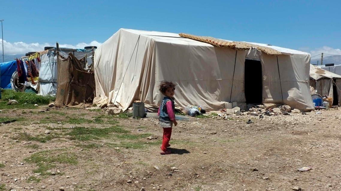 لاجؤون سوريون في لبنان لاجئ في لبنان