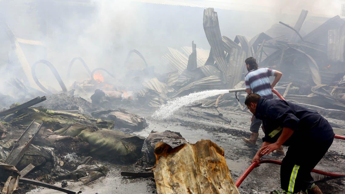 Libya explosion AFP
