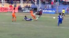 میچ کے دوران مخالف فٹبالر کی ٹکر سے کھلاڑی ہلاک