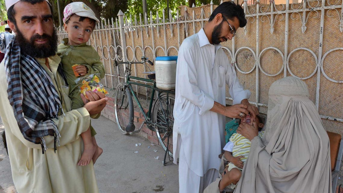Polio vaccinations surge in Pakistan