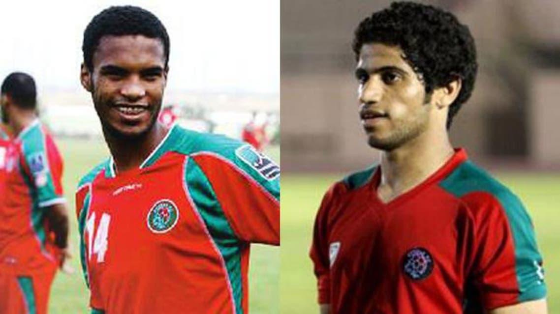 لاعبي الاتفاق حمد الحمد وأحمد عكّاش