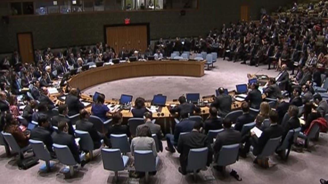اجتماع مجلس الأمن حول الوضع في سوريا