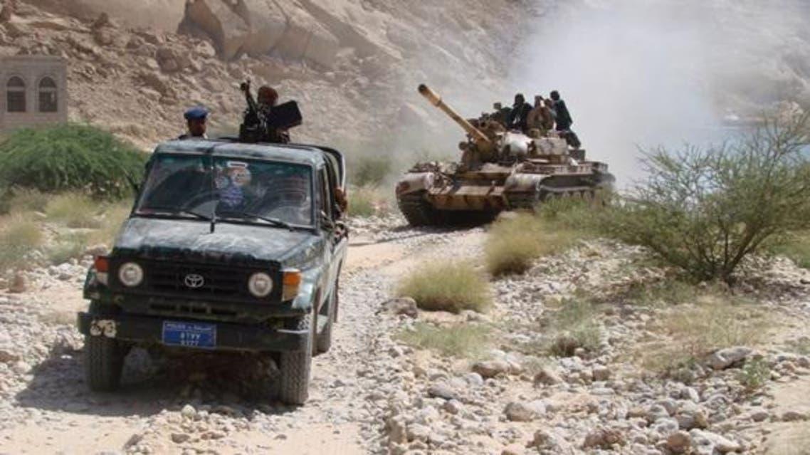الجيش اليمني في شبوة