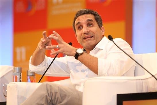 Egyptian satirist Bassem Youssef