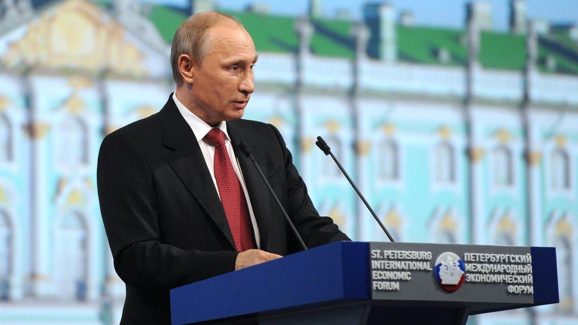 Putin Davos St. Petersburg AFP