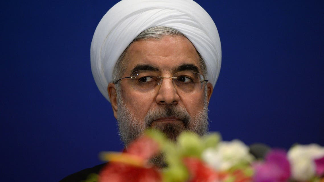 Iran President Rowhani AFP