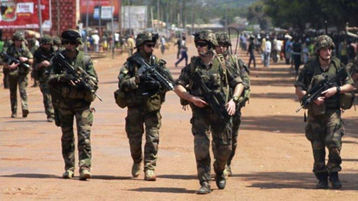 قوات فرنسية في افريقيا الوسطى