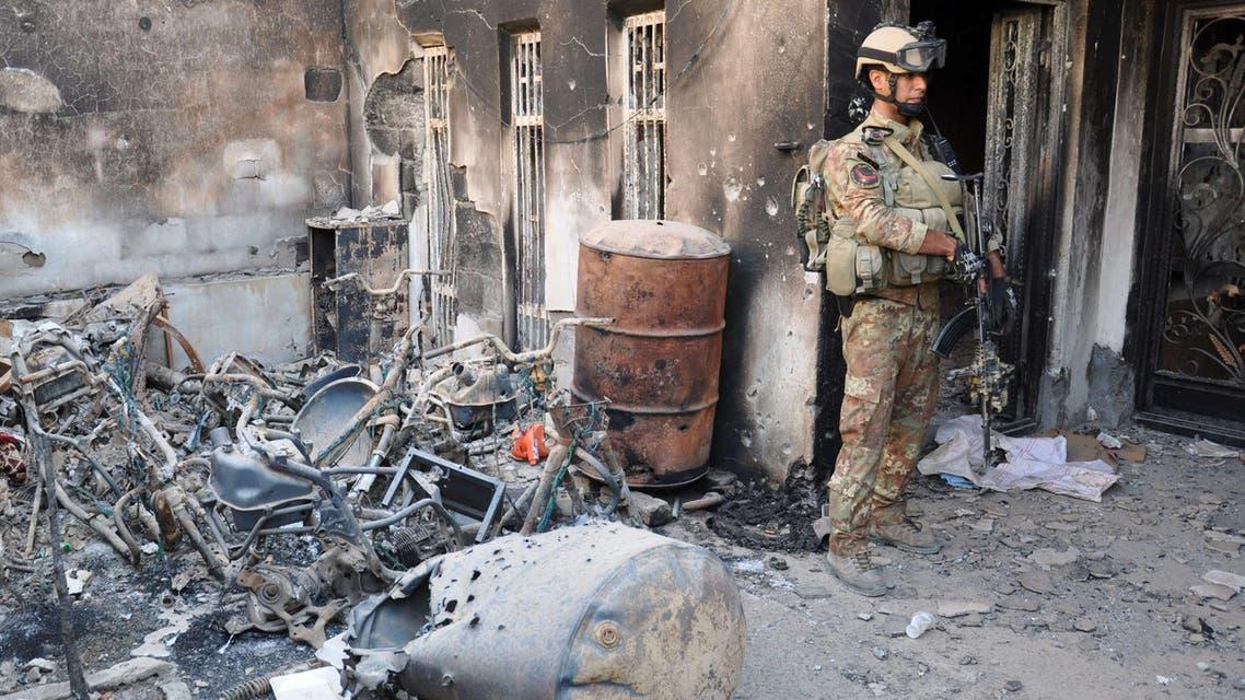 معارك في الرمادي في العراق