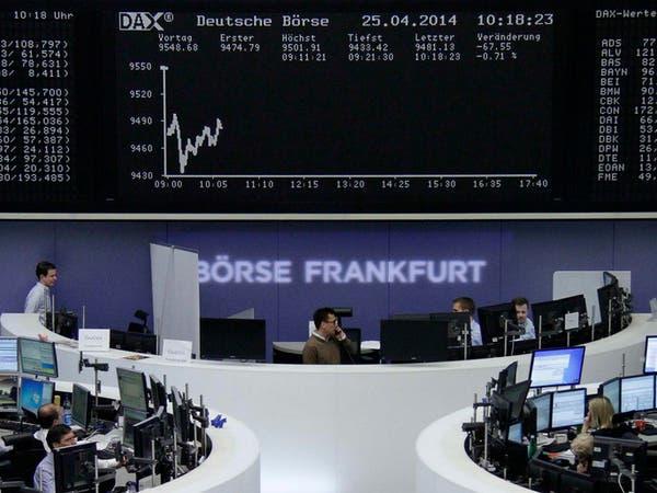 الأسهم الأوروبية تهبط بفعل التجارة والانفصال البريطاني