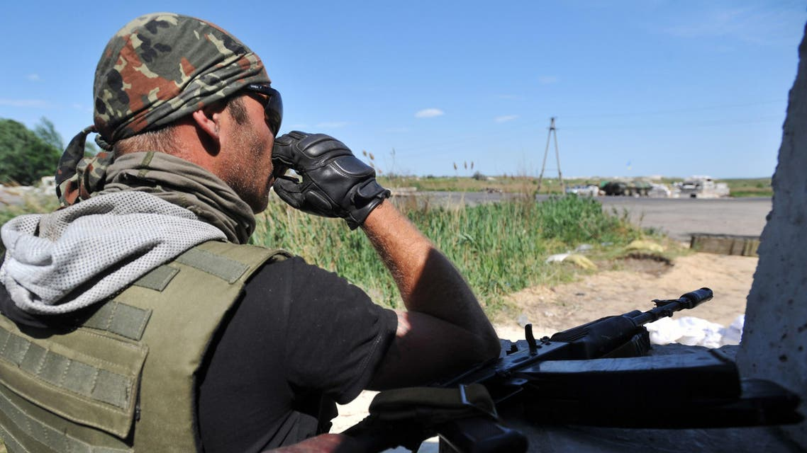 Ukraine soldier Russia Crimea AFP