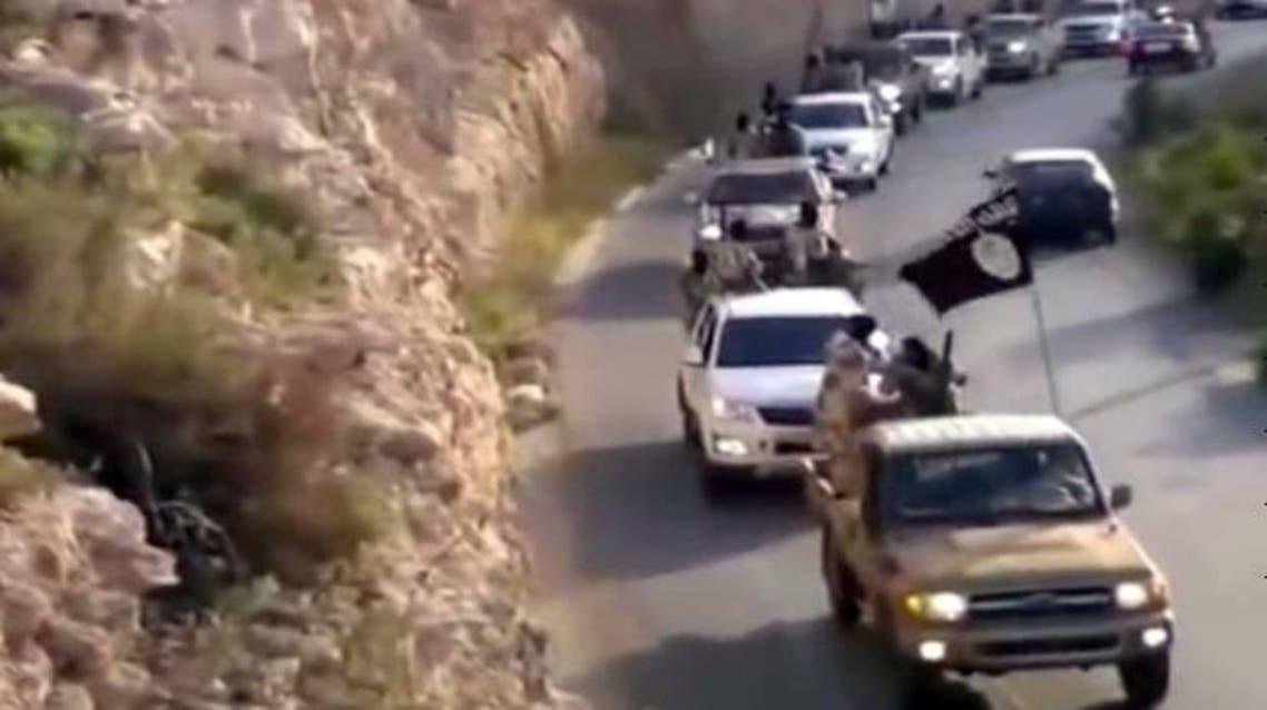 مسلحون من القاعدة في درنة في ليبيا