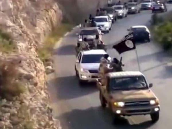 استعراض عسكري لأتباع داعش بإمارة درنة الليبية