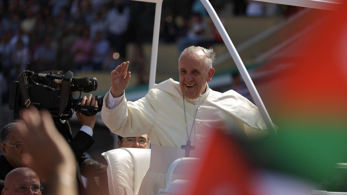 Pope Francis AFP Jordan