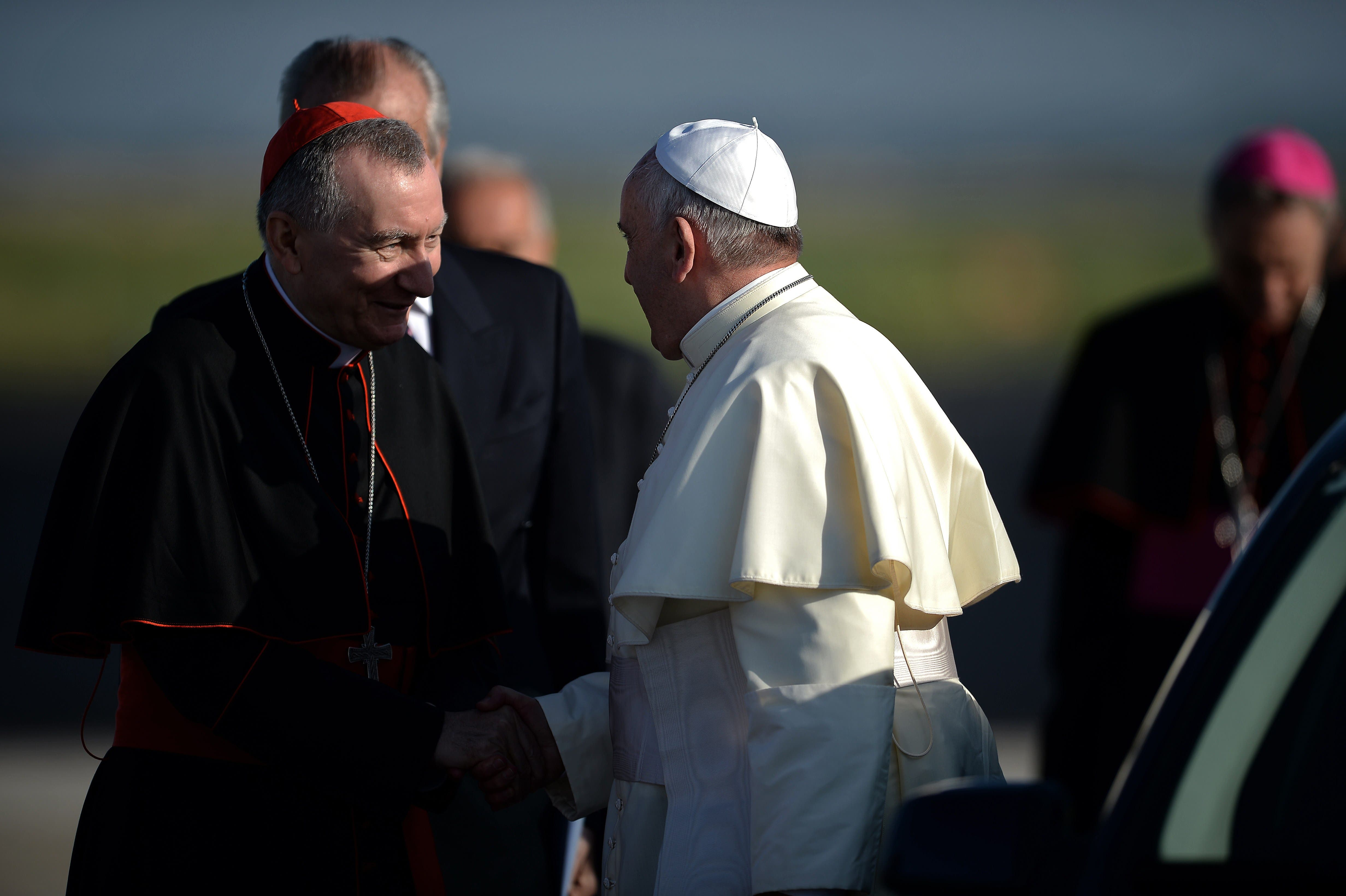 Pope Francis sets off on Holy Land tour