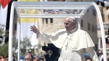 Pope prays in Bethlehem, calls for Mideast peace