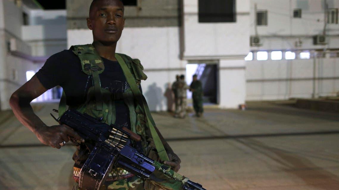 حارس أمن ليبيا