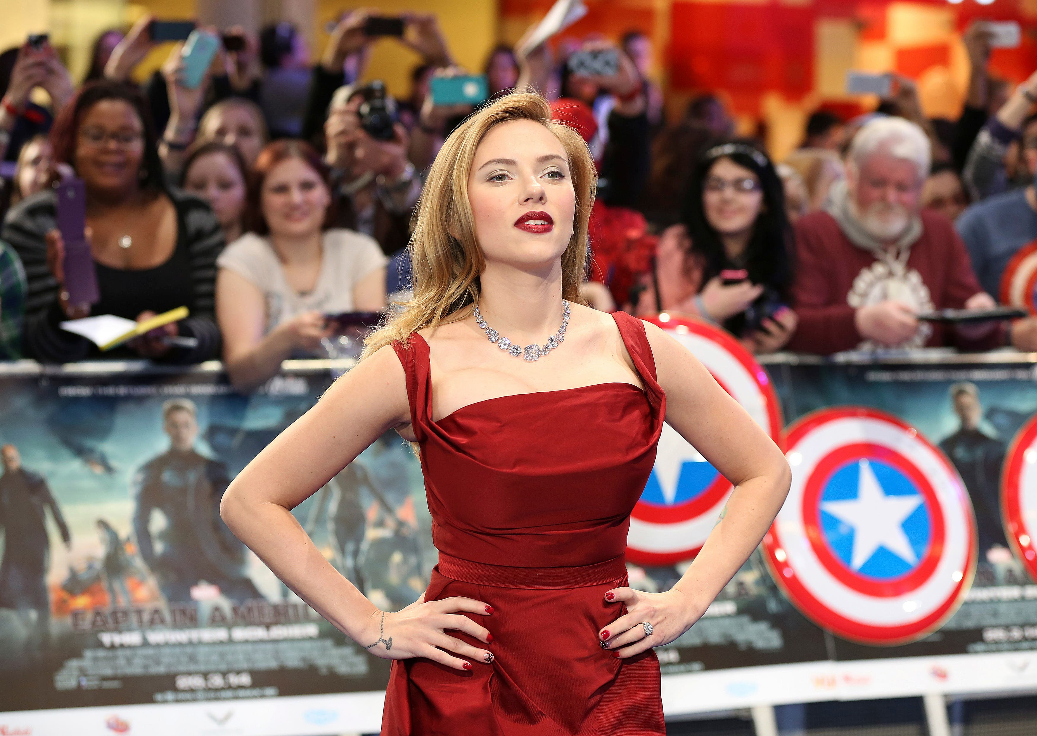 Actress Scarlett Johansson, who came 2nd on the list. (Reuters)