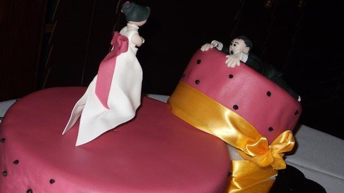 devorce cake