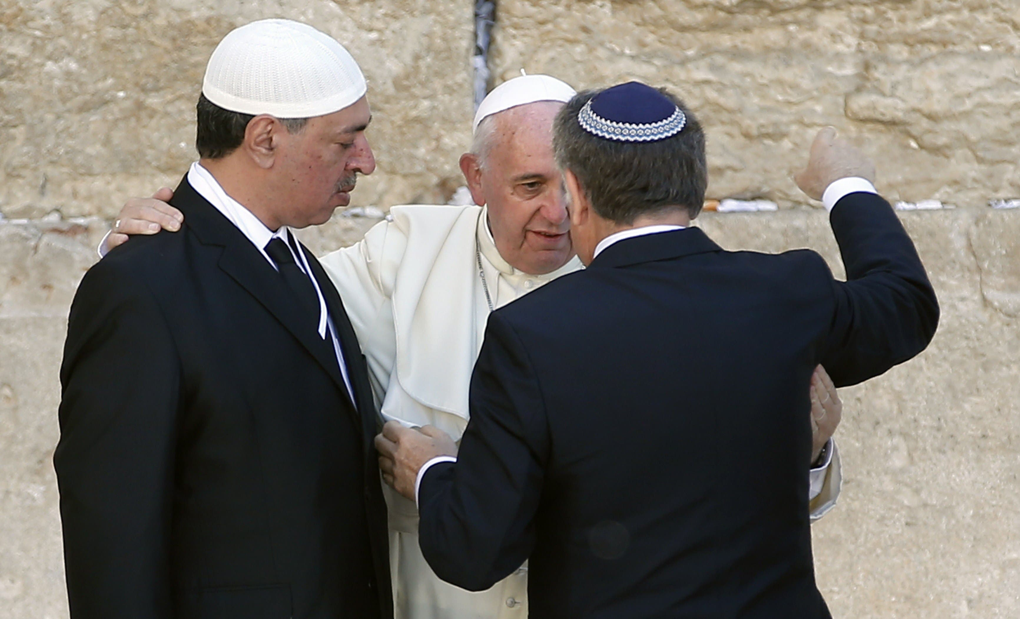 Pope Francis in third day of Holy Land visit
