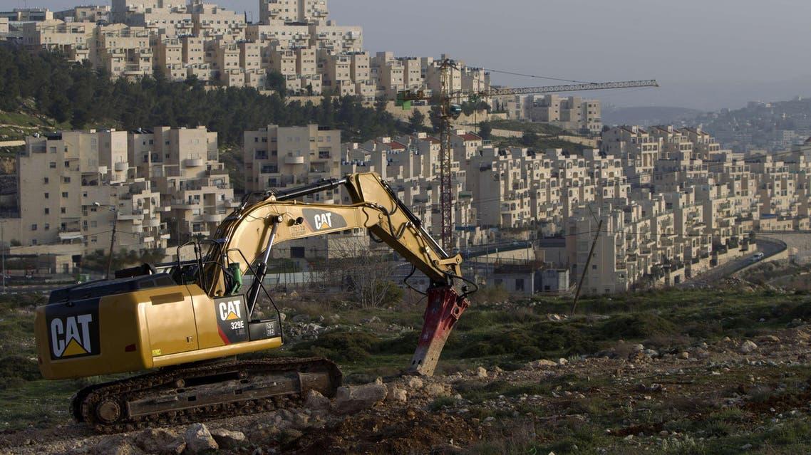 Israeli settlements AFP