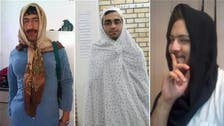 Why are Iranian men wearing the hijab?