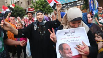 Egypt's two-day voter turnout 'about 37' percent