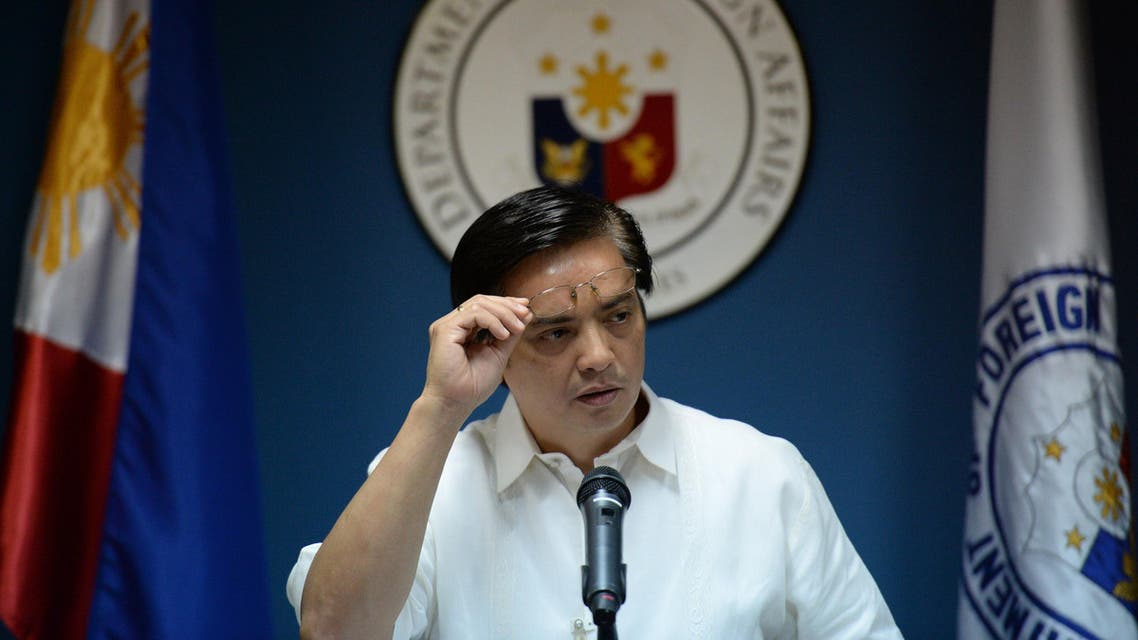 philippines foreign minister AFP