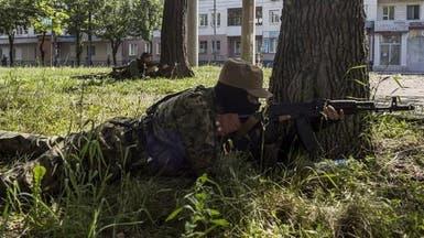 فقدان الاتصال مع فريق لمنظمة أوروبية شرق أوكرانيا