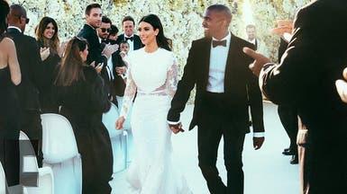 هذه صور زفاف كيم كارديشيان في إيطاليا