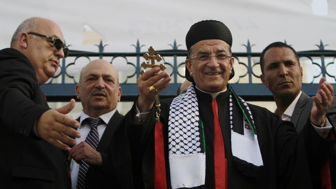 Lebanese Maronite patriarch visits Jerusalem