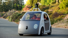 Video: Google unveils self-driving car with no steering wheel