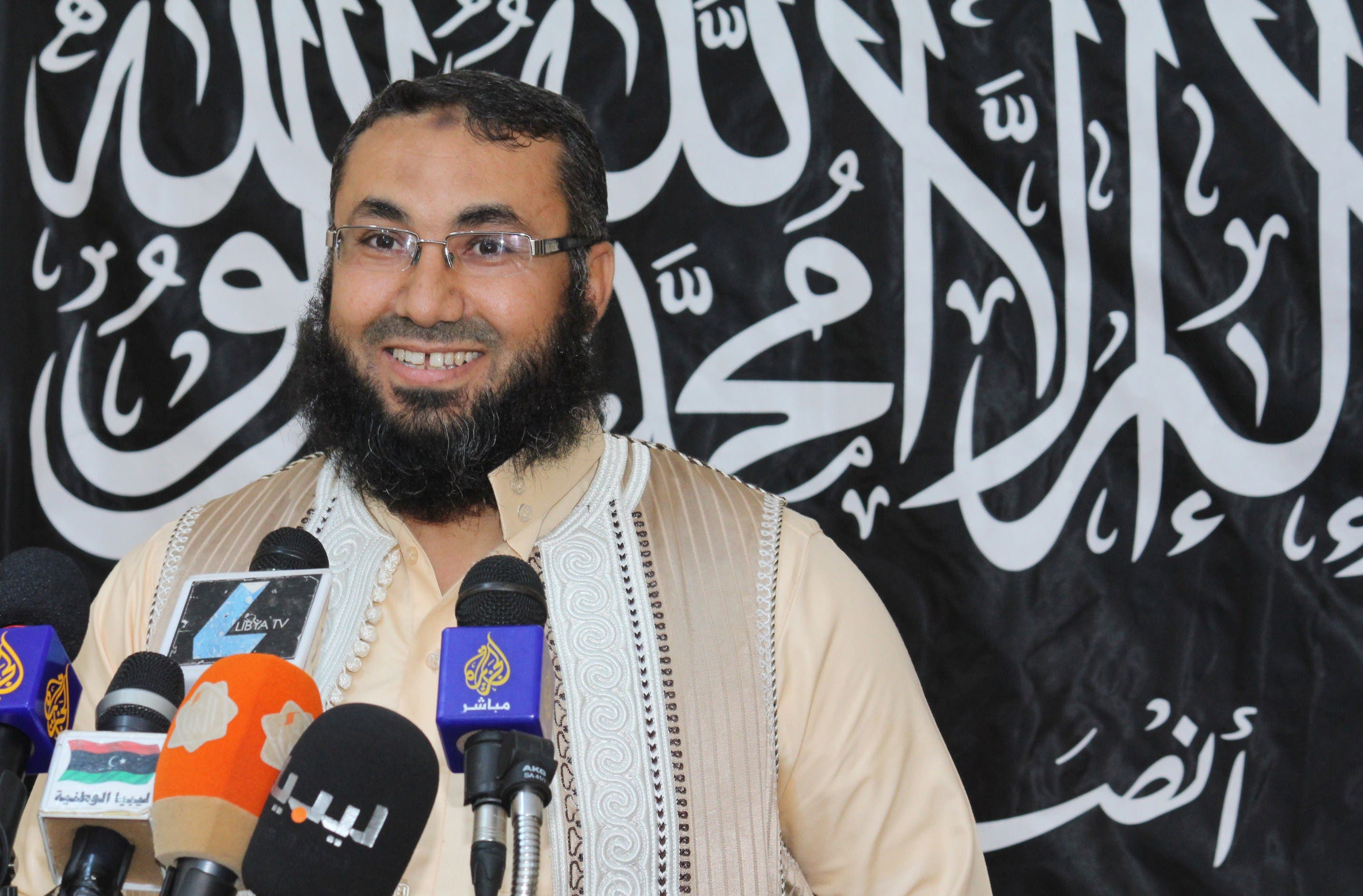 Mohamed Al-Zehawi, leader of Libyan jihadist group Ansar Asharia (AFP)