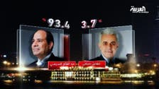 مصر: عبدالفتاح السیسی 97 فی صد ووٹ لے کر صدر منتخب