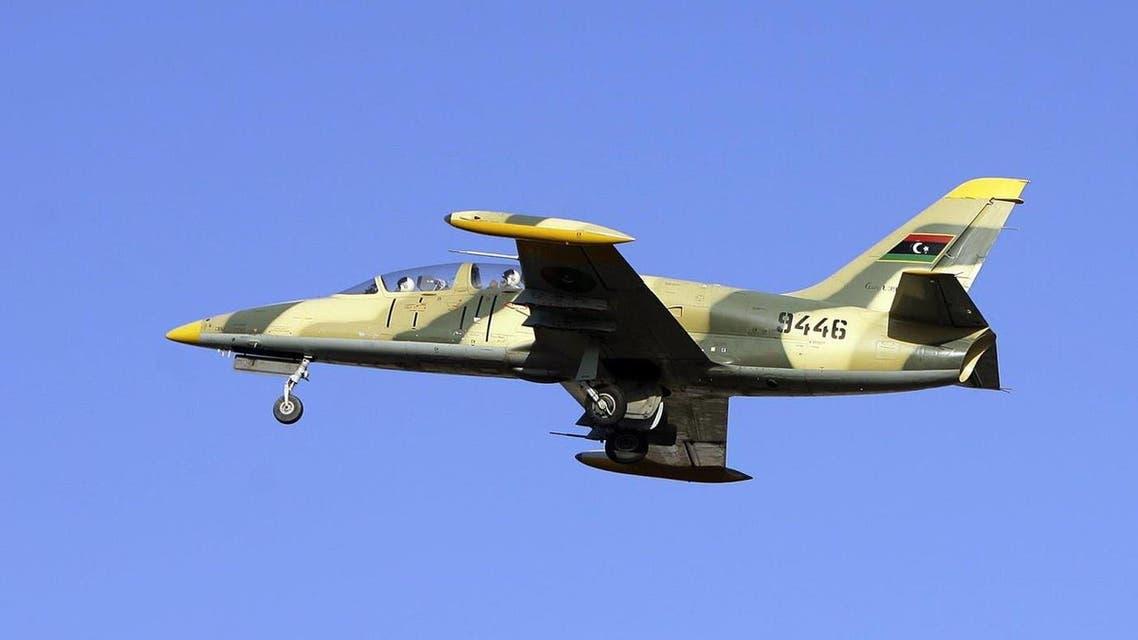 مقاتلة في سلاح الجو التابعة لقوات الجيش الليبي